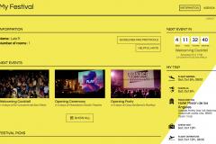 My festival on the website of Oaxaca FilmFest