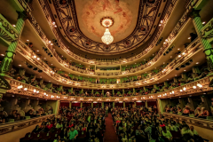 Openeing event in the teater of Oaxaca